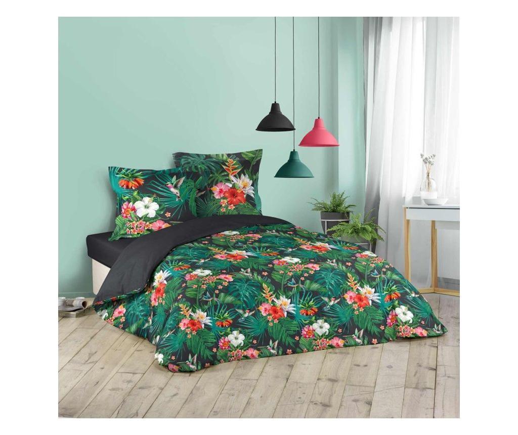 Set de pat Double Extra Jardin Exotique