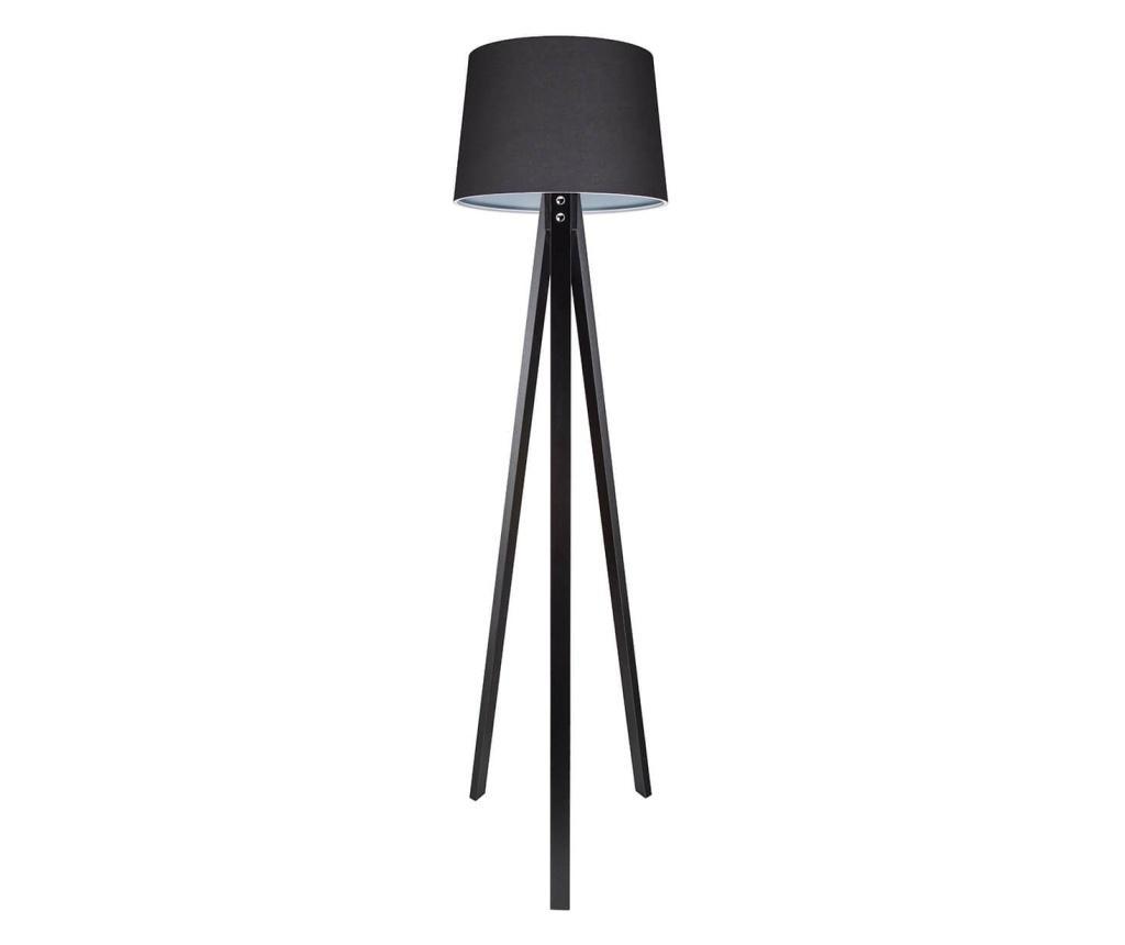 Lampadar Deko Fume and Black - Squid lighting, Gri & Argintiu vivre.ro