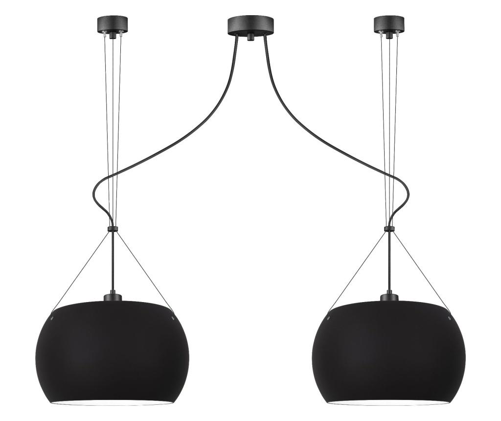 Lustra Momo Duo - Sotto Luce, Negru