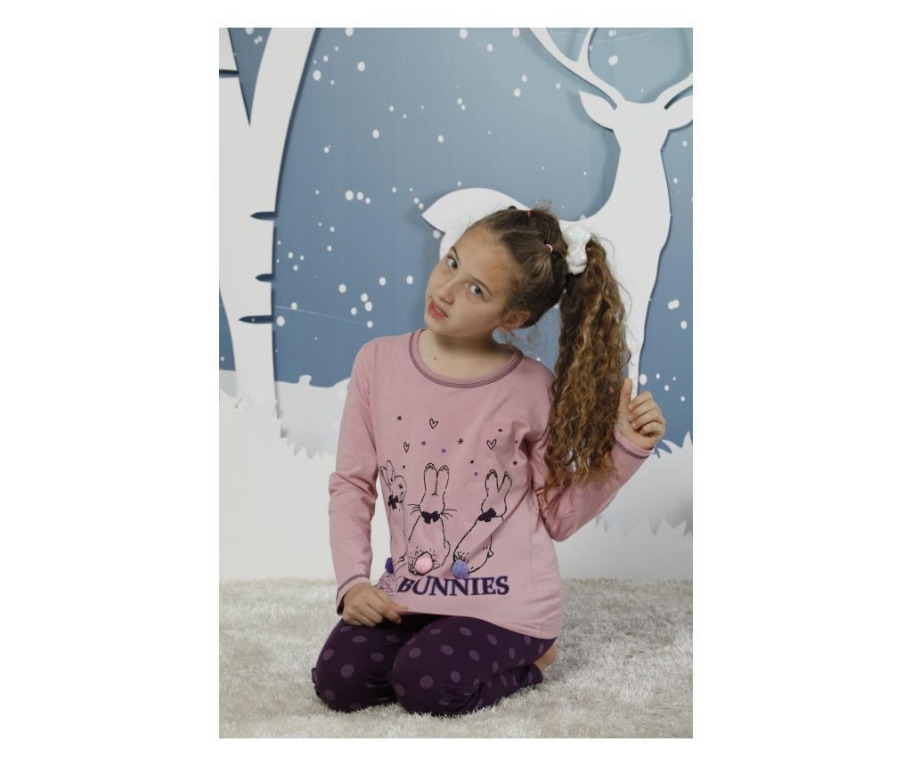 Set pijama pentru copii 2 piese 6-7 ani