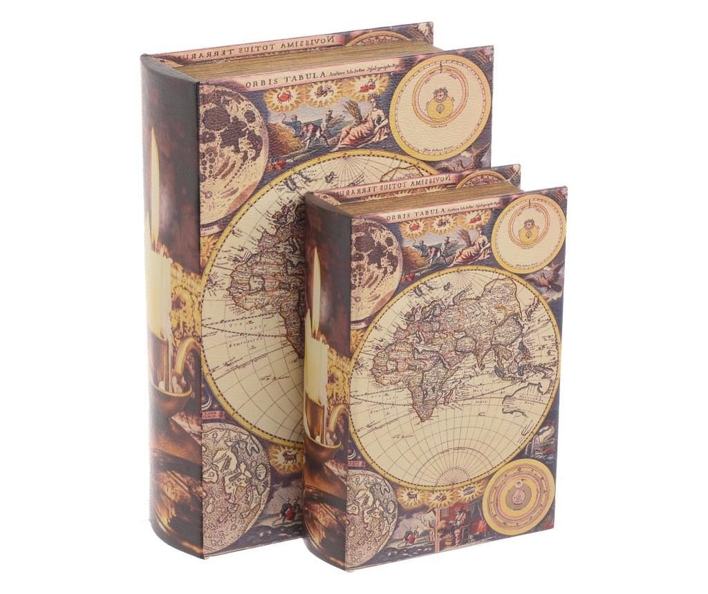 Set 2 cutii tip carte