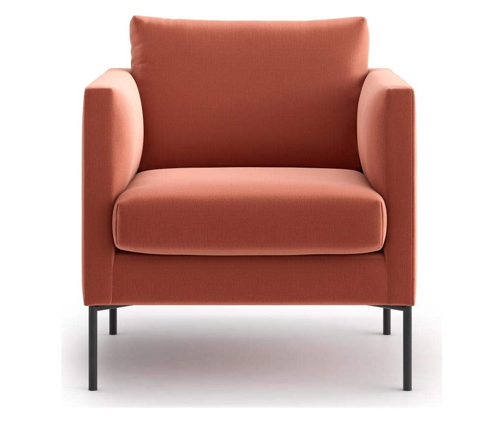 Fotoliu Svea Powder Pink - Optisofa, Roz imagine