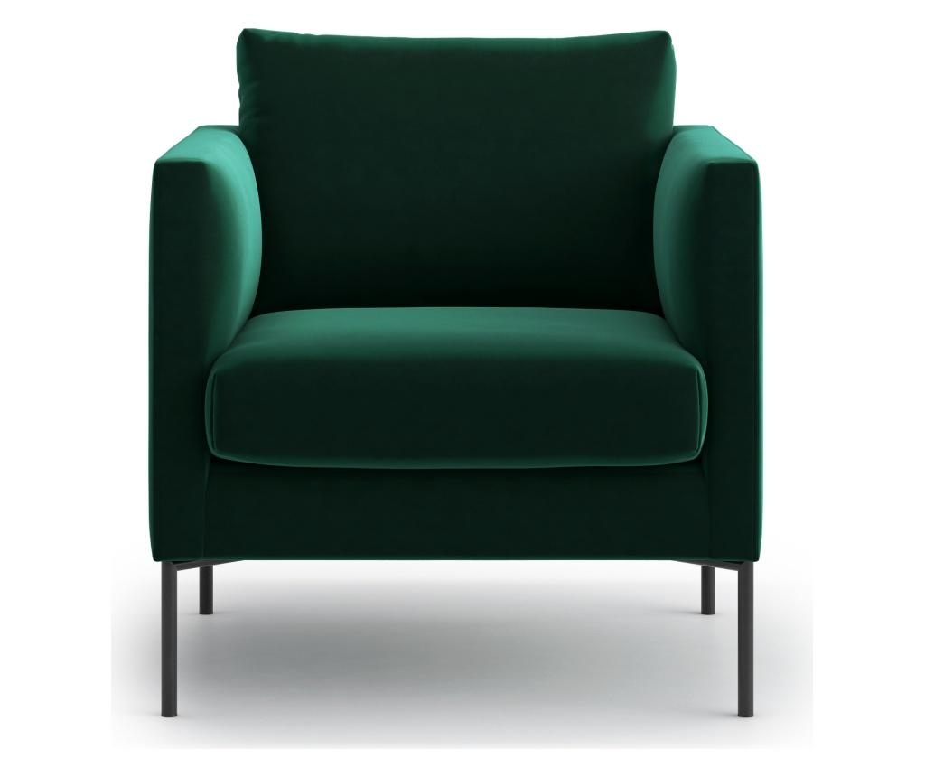 Fotoliu Svea Dark Green - Optisofa, Verde imagine