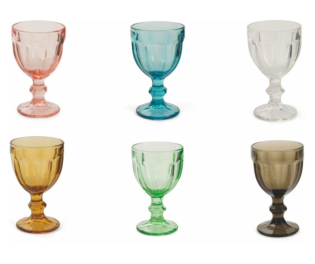 Set 6 pahare pentru vin Chateau 260 ml - Villa D'Este Home Tivoli, Multicolor imagine
