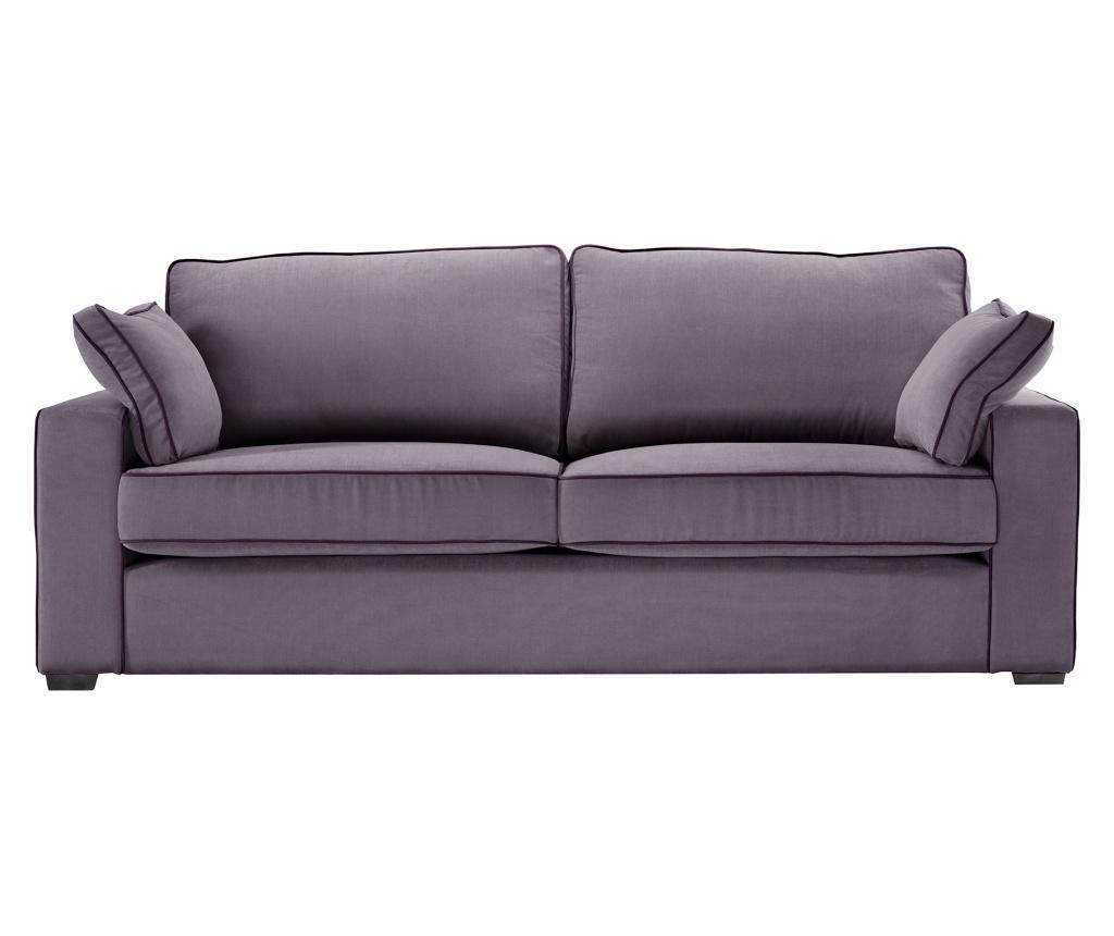 Canapea 3 locuri Serena Lilac imagine
