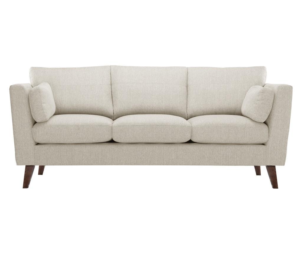 Canapea 3 locuri Elisa Cream imagine