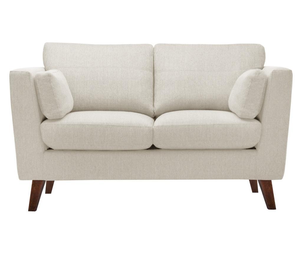 Canapea 2 locuri Elisa Cream imagine