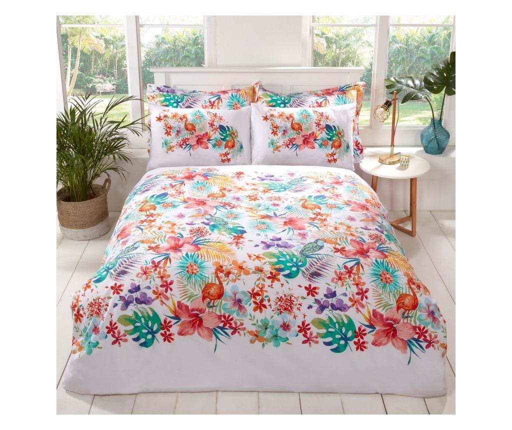 Set de pat Double Tropical