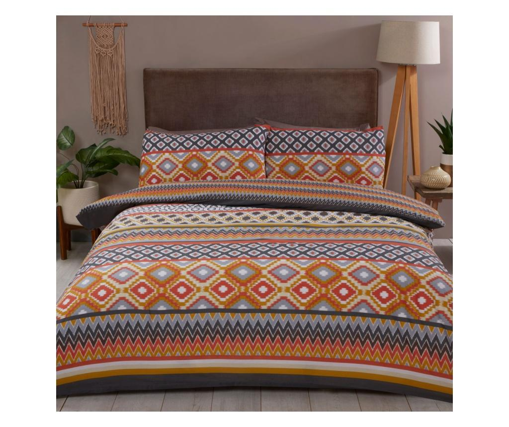 Set de pat Double Extra Zanzibar - Rapport Home, Multicolor poza