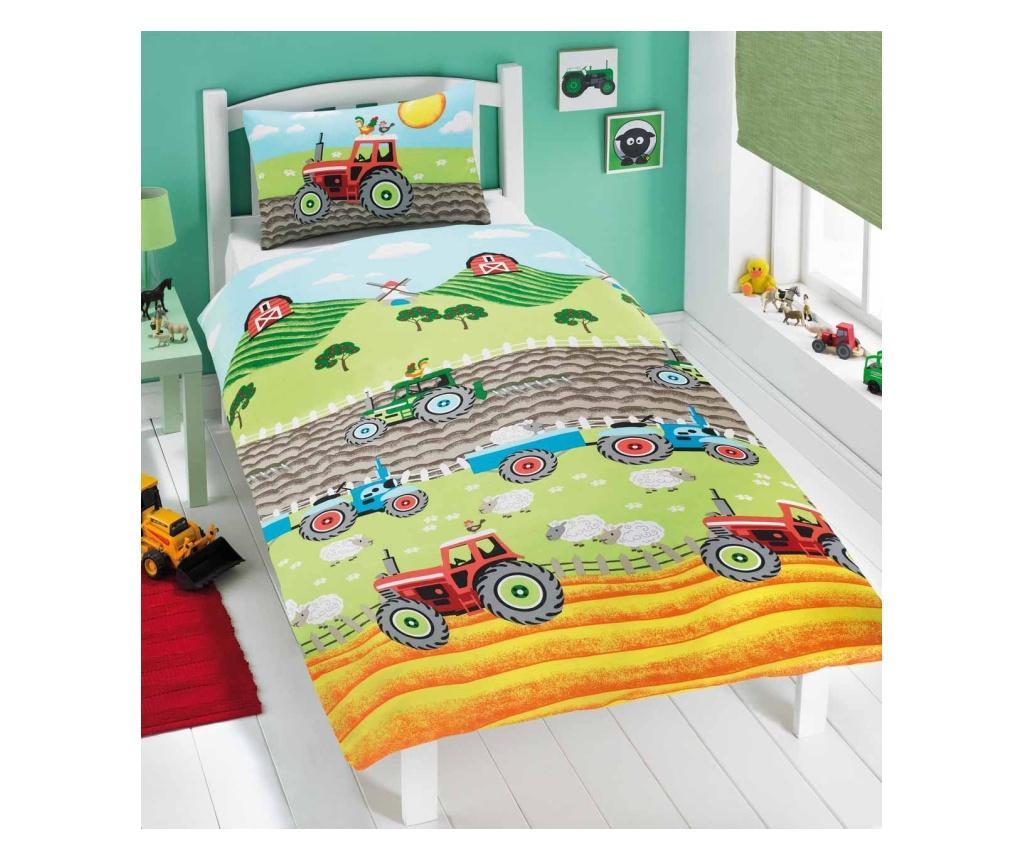 Set de pat Single Tractors imagine