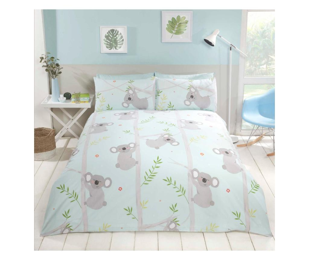 Set de pat Double Koala - Rapport Home, Multicolor poza