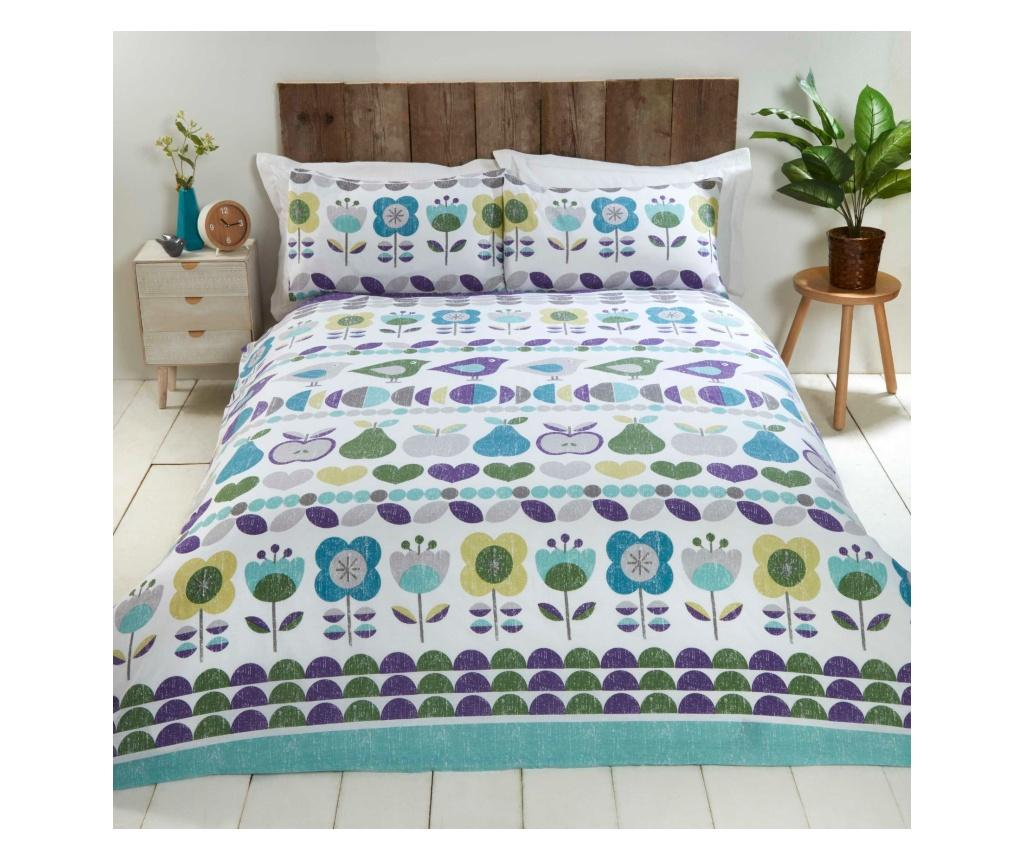 Set de pat Double Hygge Blue - Rapport Home, Multicolor poza