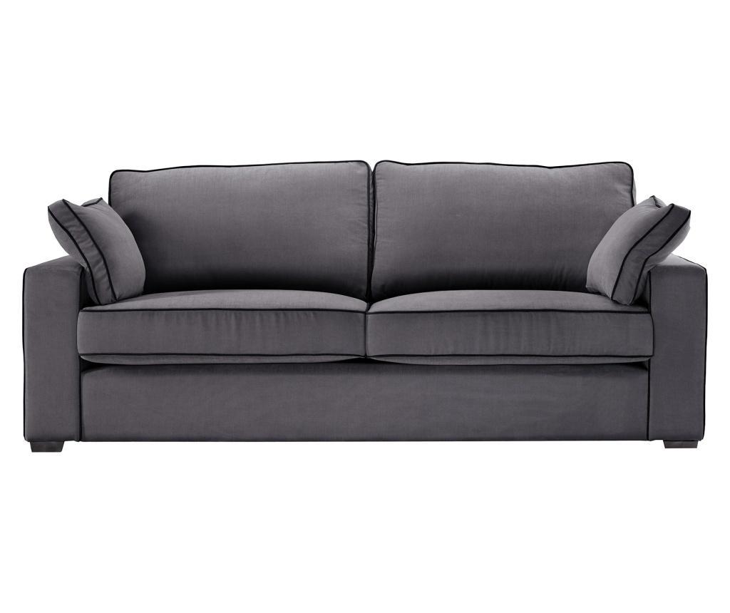 Canapea 3 locuri Serena Anthracite imagine