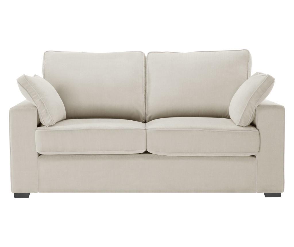 Canapea 2 locuri Serena Cream imagine