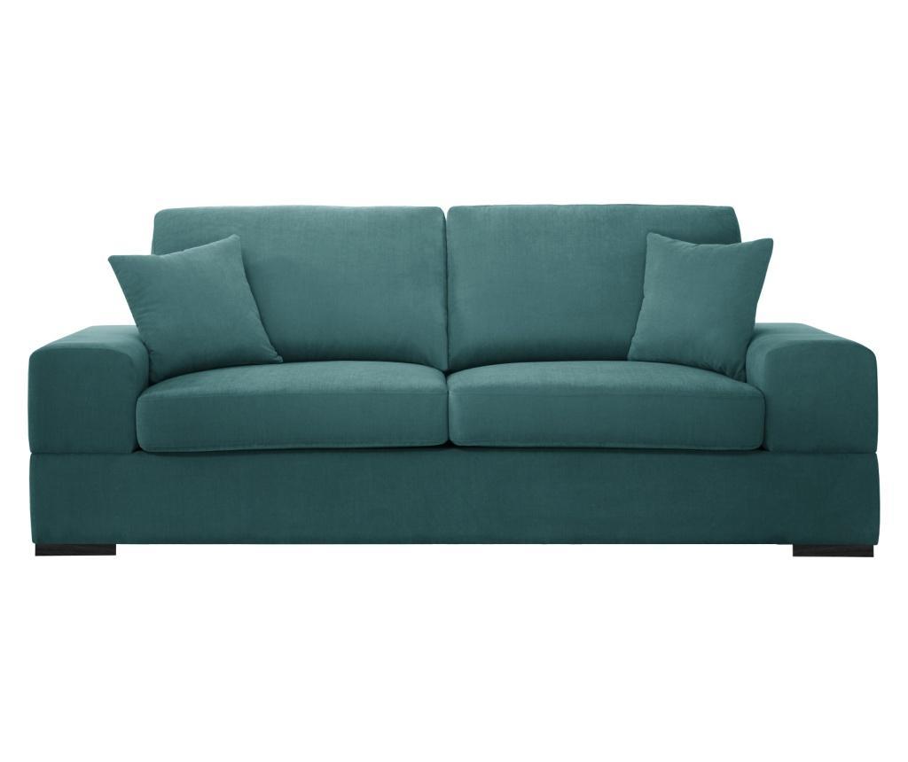 Canapea extensibila 3 locuri Dasha Light Blue imagine