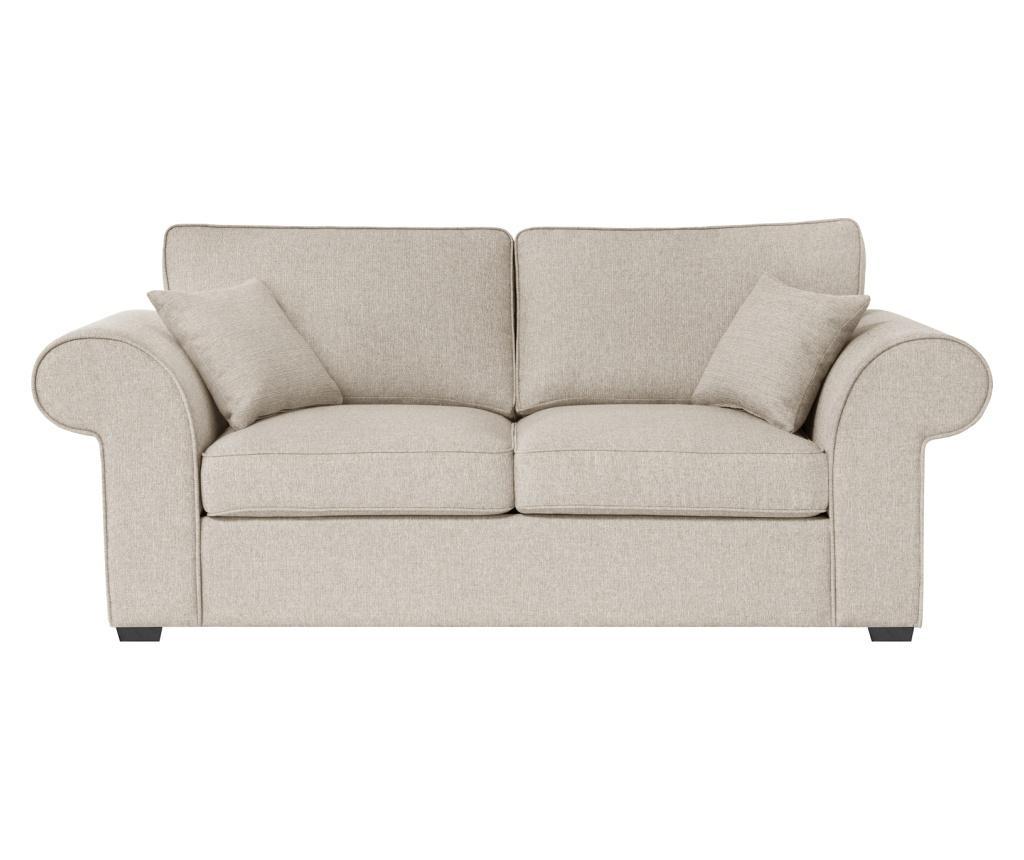 Canapea 3 locuri Ivy Cream imagine