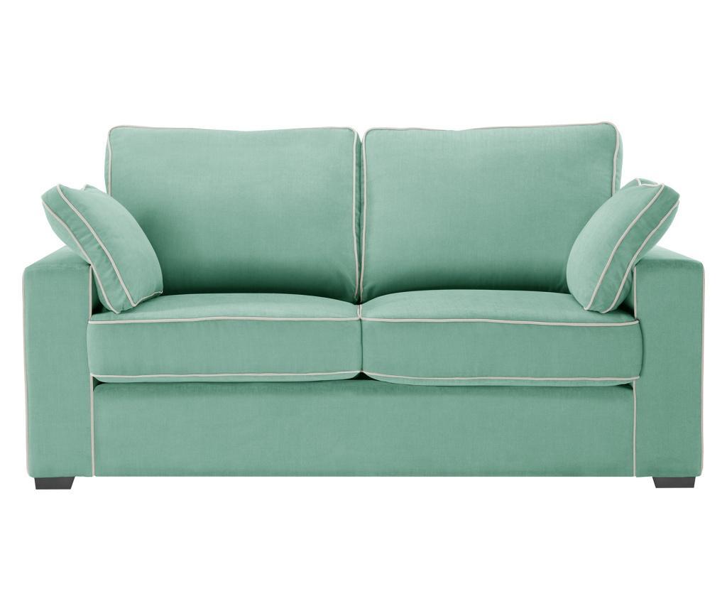 Canapea 2 locuri Serena Mint - Jalouse Maison, Verde imagine