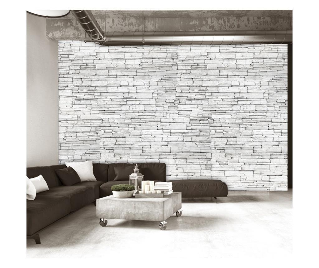Tapet White Brick 280x400 cm