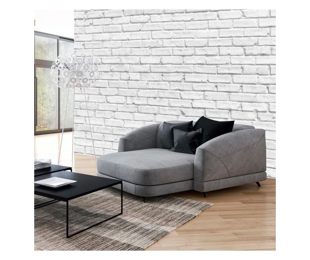 Tapet White Stone 280x400 cm