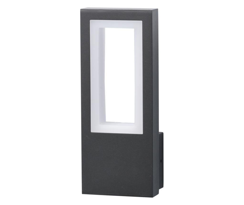Aplica de exterior Mercury - Functional Lighting, Gri & Argintiu imagine