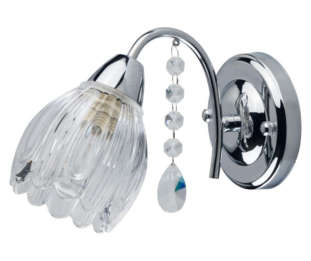 Aplica de perete Flora - MW-LIGHT, Gri & Argintiu poza