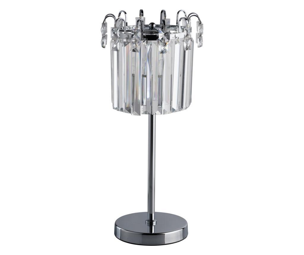 Veioza Adelard - Classic Lighting, Gri & Argintiu imagine