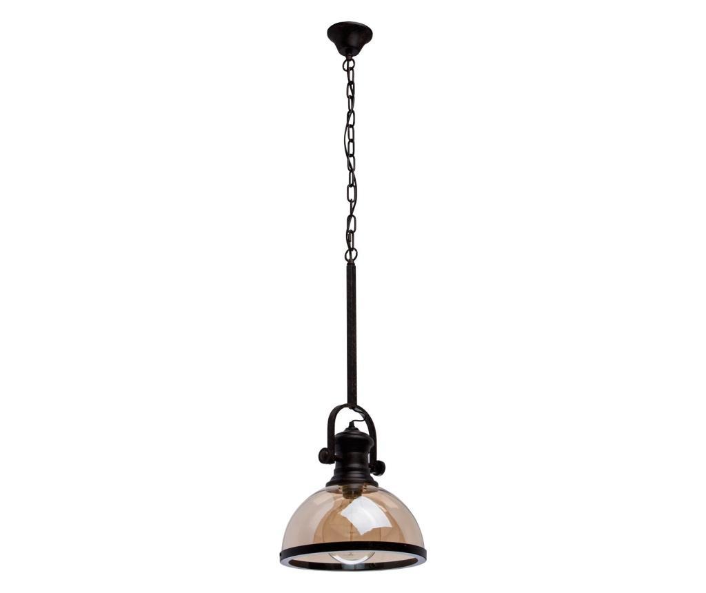 Lustra Neuwied - Classic Lighting, Galben & Auriu,Negru imagine