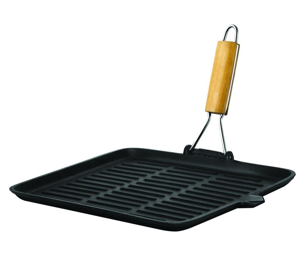 Tigaie grill - Promab, Negru poza