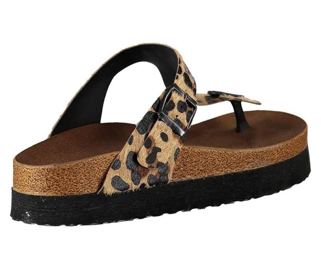 Papuci dama Fox Shoes Leopard 36