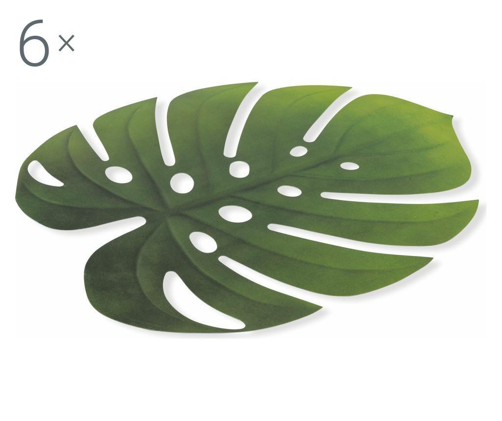 Set 6 suporturi pentru farfurii Jungle 36x47 cm imagine