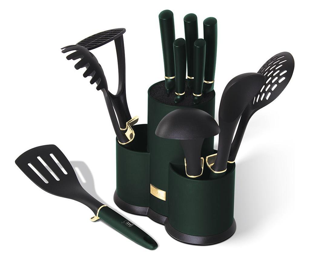 Set 12 unelte de bucatarie Emerald imagine