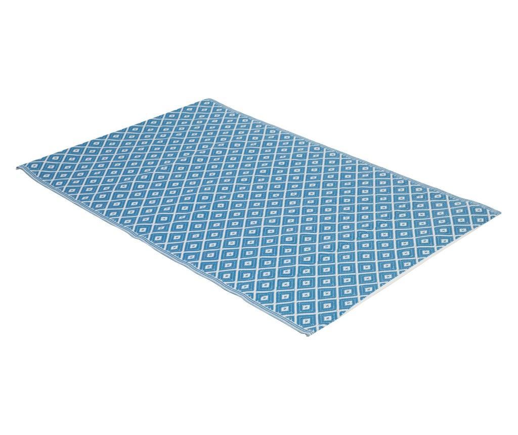 Covor pentru exterior Pinir Blue 150x200 cm imagine