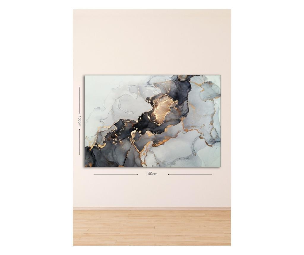 Tablou Andrei 70x100 cm - TABLOCENTER, Multicolor imagine
