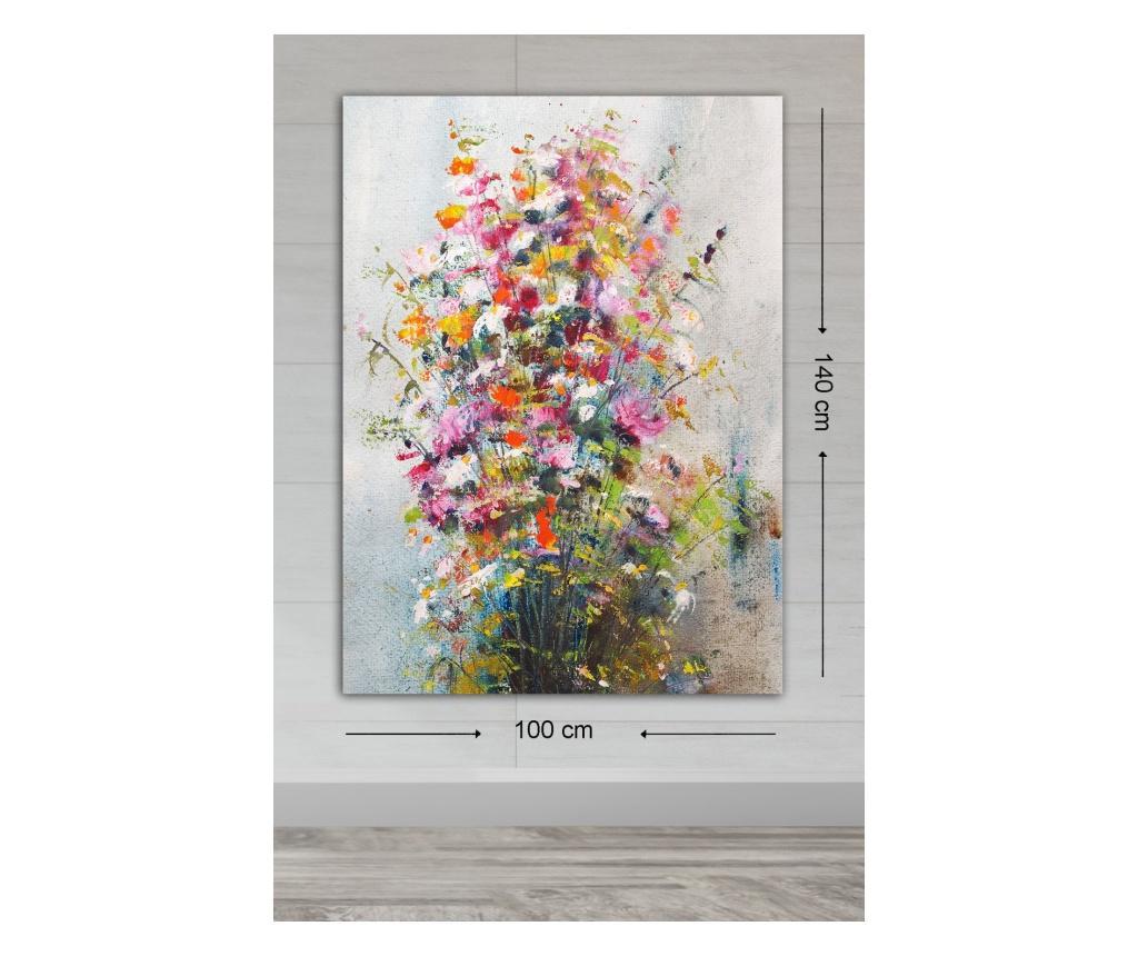 Tablou Davine 50x70 cm - TABLOCENTER, Multicolor poza