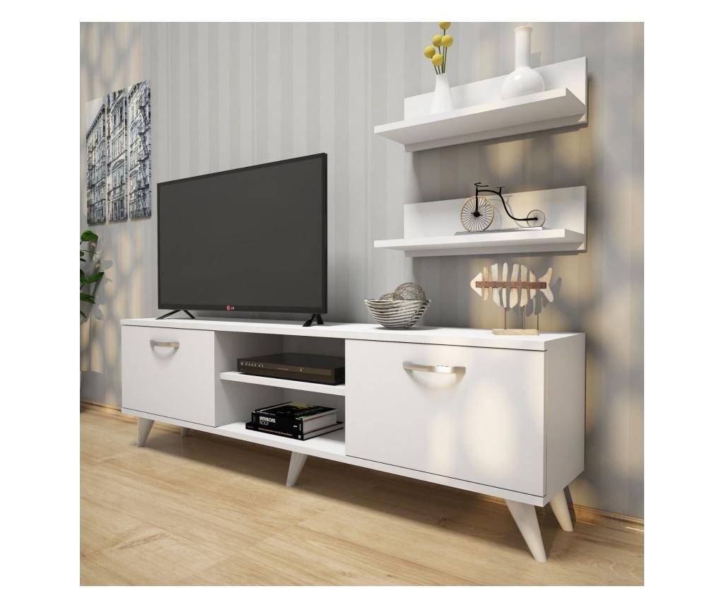 Set comoda TV si polita - Wren imagine