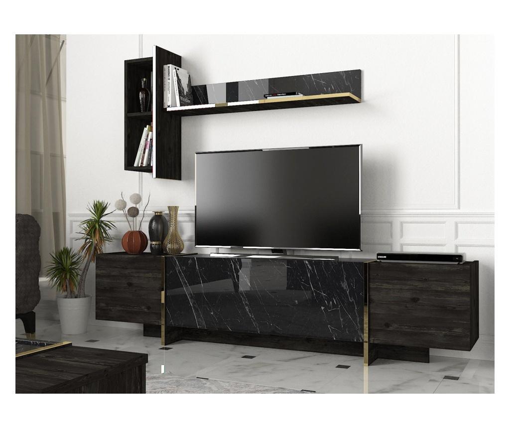Set comoda TV si polita Veyron - Talon