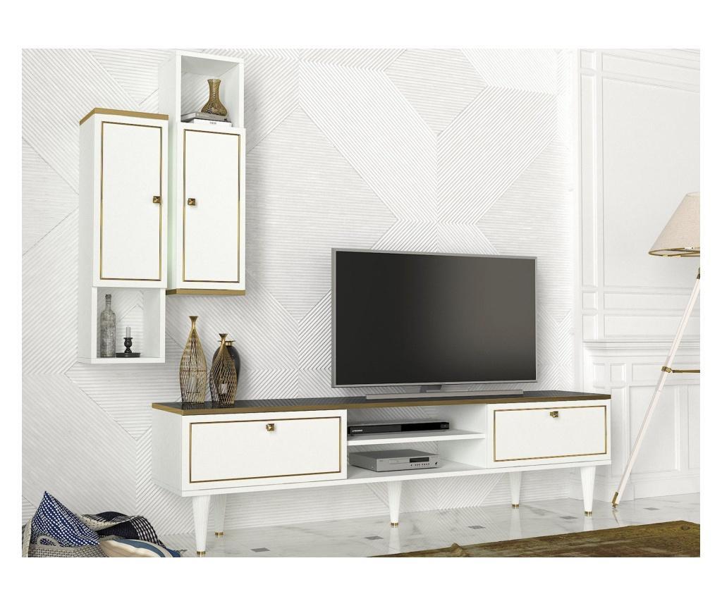 Set comoda TV si 2 polite Ravenna - Talon imagine