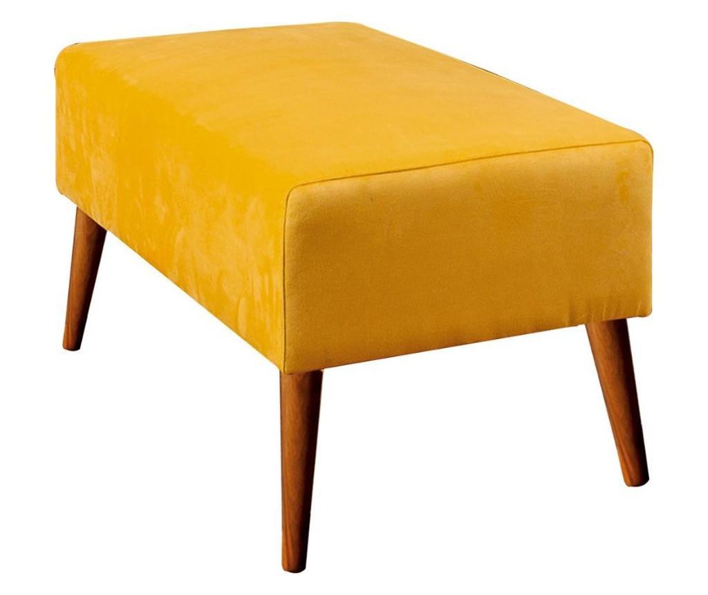 Bancheta Libre Yellow - Unique Design, Galben & Auriu