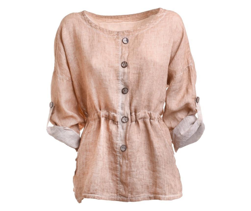 Bluza dama One size - Ble, Crem poza