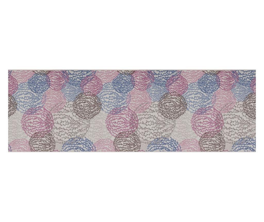 Covor 100x300 cm - Confetti, Multicolor imagine