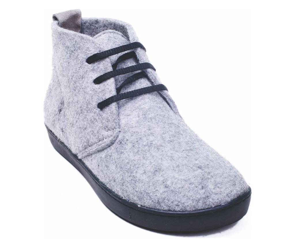 Ghete dama BlasWool Grey 40 - Comfortfüße, Multicolor poza
