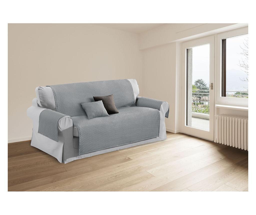 Husa pentru canapea cu 3 locuri Sphere Grey 240x175 cm - Co.Ingros.Tex, Gri & Argintiu imagine