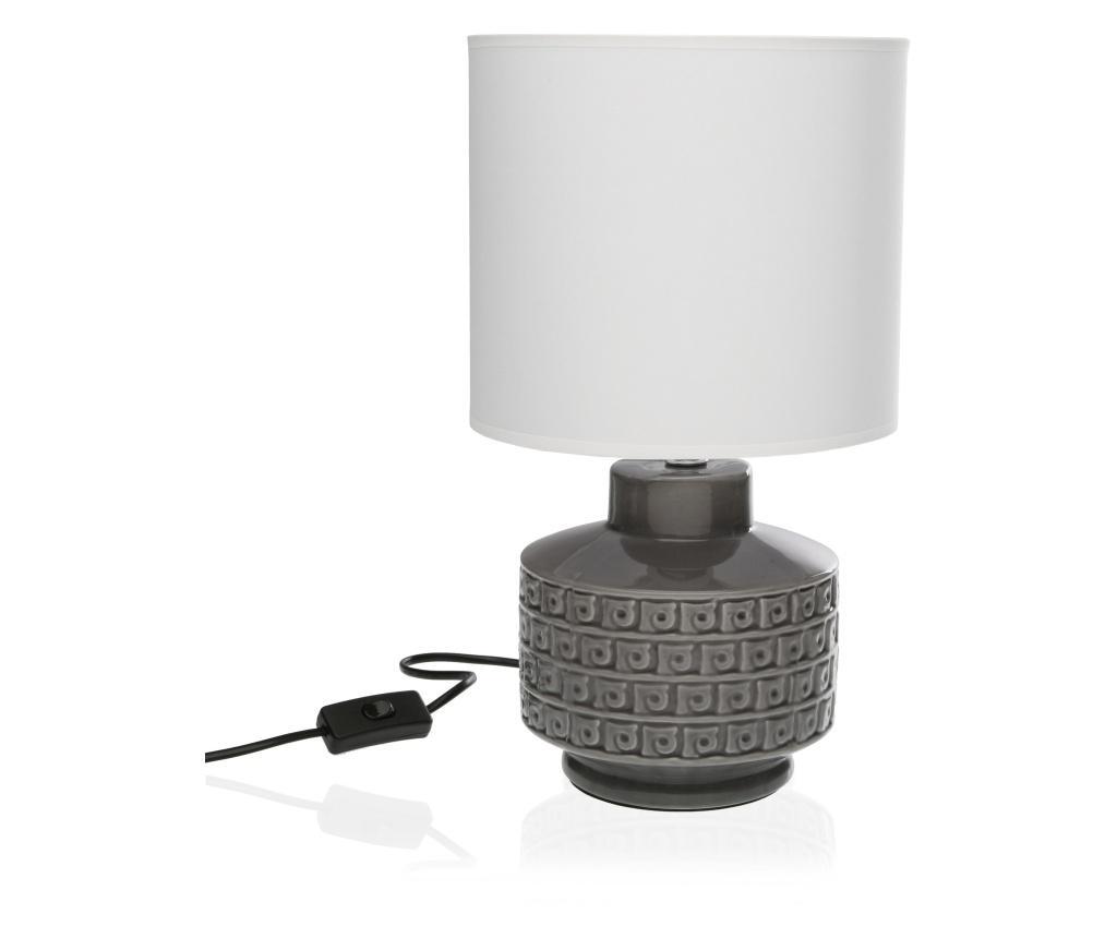 Lampa de masa - Versa, Gri & Argintiu