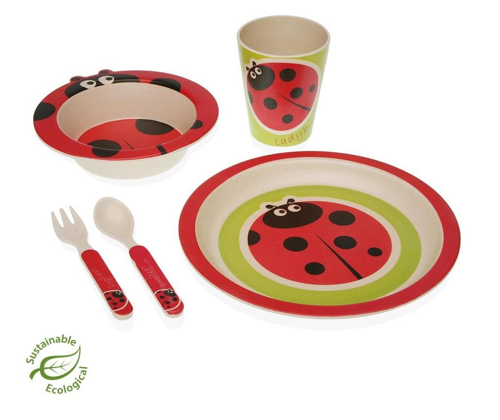 Set de masa pentru copii 5 piese Baby - Versa, Multicolor vivre.ro