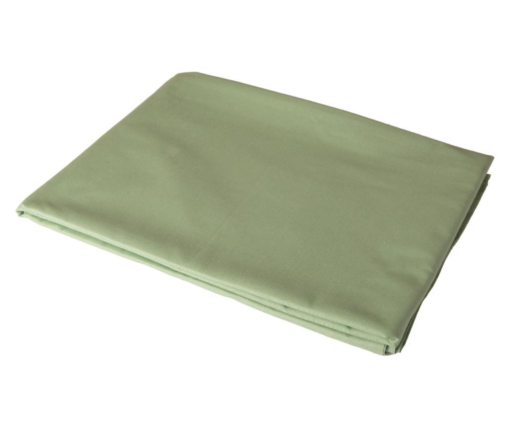 Cearsaf de pat cu elastic Basic Light green 160x200 cm