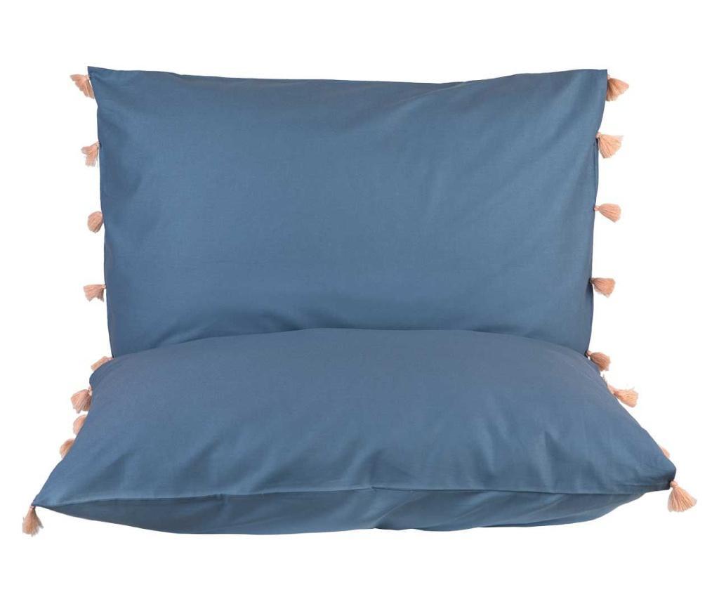 Set 2 fete de perna Tanora Blue 50x70 cm