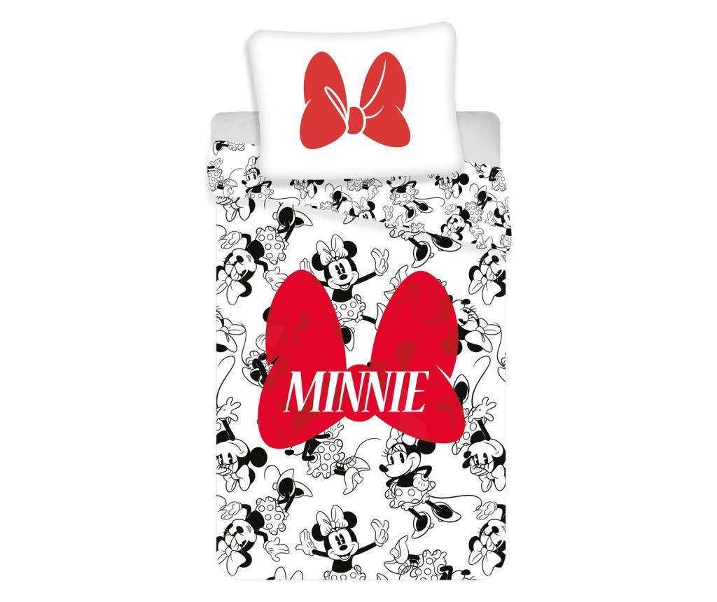 Set de pat Single Ranforce Minnie