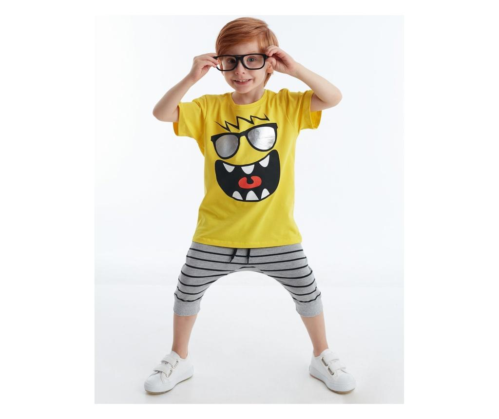 Set tricou si pantaloni pentru copii Joyful 8 years