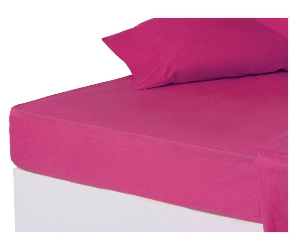 Cearsaf de pat cu elastic 150x200 cm - Casa Selección, Roz vivre.ro