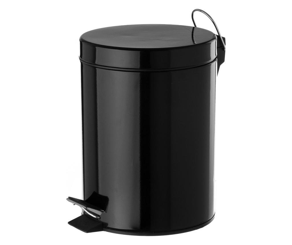 Cos de gunoi - Casa Selección, Negru imagine